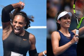 'Konta can upset Serena'