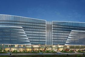 New development replacing Park Mall to revitalise Dhoby Ghaut area