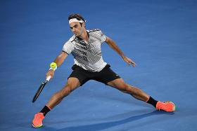Federer one step away from 18th Major title