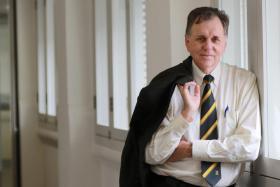 Australian microbiologist Barry Marshall, a Nobel Prize prize-winning scientist, isa visiting professor at the Nanyang Technological University (NTU)