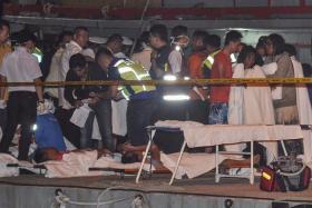 Police detain captain of capsized boat