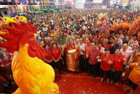 Ruling the roost on Chinese New Year