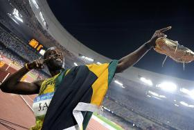 'Disappointed' Usain Bolt takes medal loss in his stride