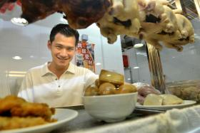 National University of Singapore business graduate Derrick Lee is running his own chicken rice stall.
