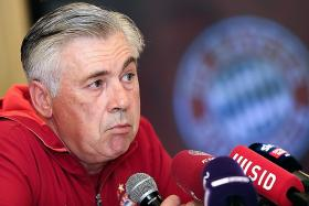 Ancelotti unhappy after draw