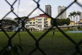 The former Balestier Hill Secondary School compound is one of 11 school sites that have been vacated over the past two years, following MOE's announcement last year of its biggest merger exercise in the past five years.