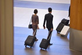 The issue of sick leave has arisen after the death of an SIA stewardess.