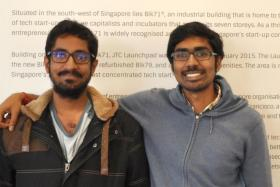 Dexecure founders Murali Srirangam Ramanujam (left) and Inian Parameshwaran.