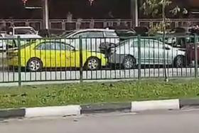 ComfortDelGro reaching out to owners of cars rammed by taxi