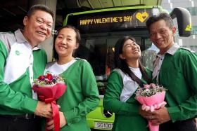 Bus captain couples - keeping love alive on the road