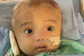 Singaporeans help Viet baby with brain condition