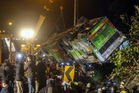Driver fatigue cause of fatal Taiwan bus crash?