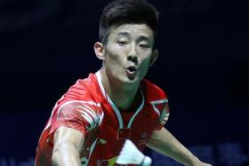Chen leads Chinese charge at Singapore Open
