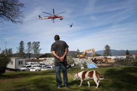 California dam evacuees allowed to go home