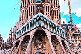 Sagrada Familia in Spain.