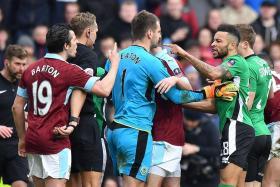 Barton denies play-acting