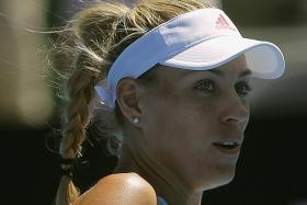 Kerber focused on revival, not top ranking