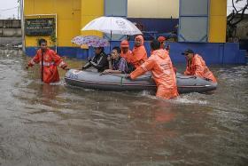 Jakarta hit by floods