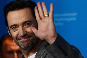 Hugh Jackman waves goodbye to Wolverine