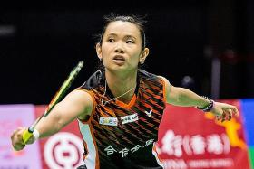 World No. 1 Tai wants to make amends for first-round exit last year