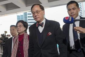 Tsang sentenced to 20 months' jail for misconduct