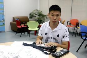 His teacher learns Braille to teach him