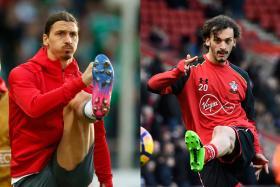 Showdown of strikers
