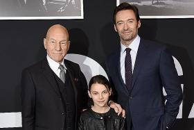 Professor X is in a hairy situation in Wolverine film Logan