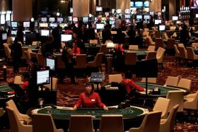 Macau gambling revenue hit 2-year high last month, shows recovery
