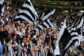 The Newcastle faithful