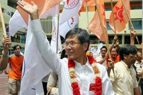 Mr Sin Kek Tong leaves behind his wife, two daughters, a son and three grandchildren. ST FILE PHOTO