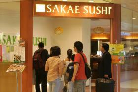 Sakae Sushi at Changi Airport Terminal 2