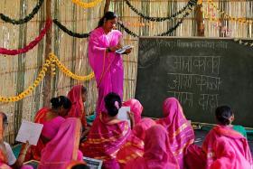 India's 'school for grannies'