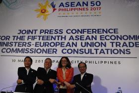 10 years on, Asean and European Union back at the table for free trade deals