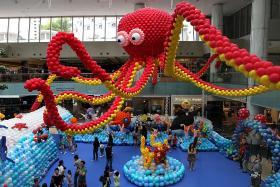 Sea, it's art at Marina Square