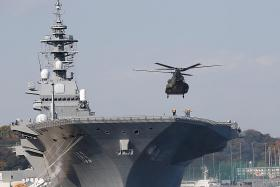 Japan's largest warship to tour South China Sea