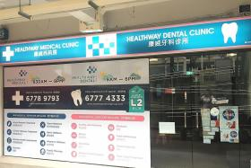 No doctors at 7 clinics under Healthway Medical Corp