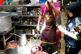 Two Penang eateries shut after rat droppings found