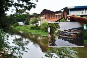 Kampung clean-up