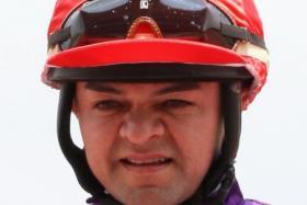 In-form jockey Manoel Nunes.