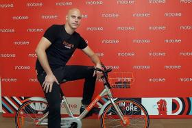 Third bike-sharing app launched