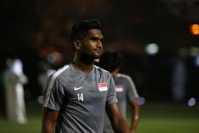Hariss Harun is looking sharp in training despite not playing competitively, says Sundram.