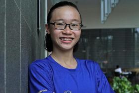 'Fast-learner' Ching Hwee making a splash