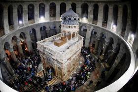 Jesus' tomb restored to former glory