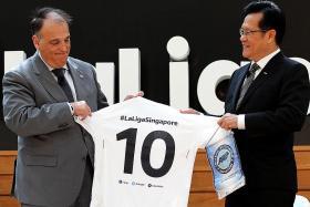 La Liga sinks roots in Singapore