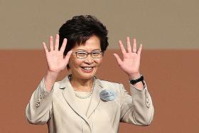 Lam elected Hong Kong chief executive