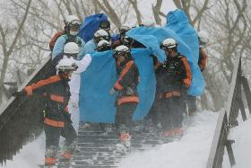Avalanche tragedy in Japan