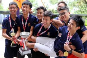 ACS(I) win first B boys' squash title since 2012