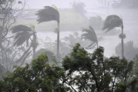 Cyclone Debbie made landfall about 900km north-west of Brisbane as s Category Four storm.