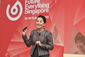 File photo of Jacqueline Poh, chief executive of GovTech, from 2015.